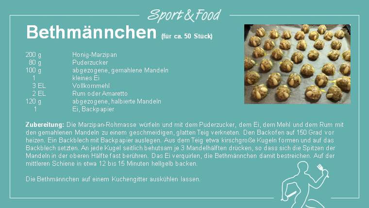 Rezept: Bethmännchen