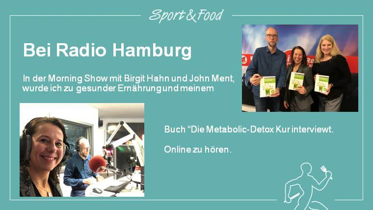 Interview bei Radio Hamburg