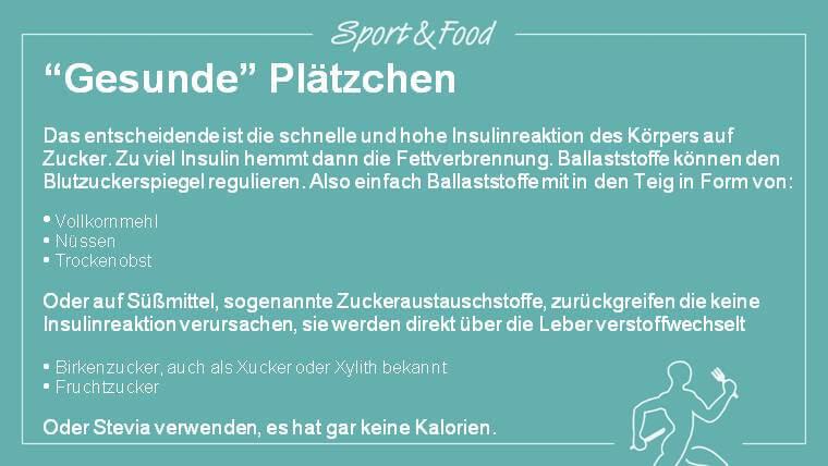 """""""Gesunde"""" Plätzchen"""